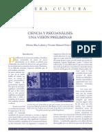 Ciencia y Psicoanálisis una visión preliminar. Lahite & Ortiz Oria