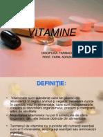 Vitamine Curs