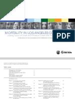 2010 Mortality Report - LA County