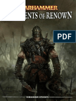 Warhammer - Regiments of Renown