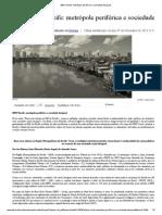 IBEU Recife_ metrópole periférica e sociedade desigual
