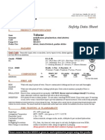 Toluene MegaToluene megaloid Laboratories data sheet