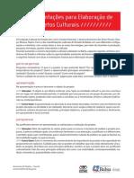 Manual Projetos
