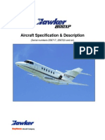 Hawker800XP Spec Description