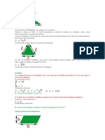 Cálculo da Área do Triângulo