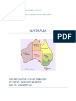 Australia Turism International, Geografie Economica