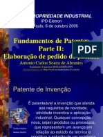 FundamentosdePatentesParteIIElaboraodepedidodepatente