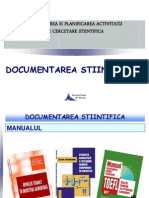 OPACS - C3-C4 -Documentarea Stiintifica II