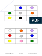 Farben Tier Bingo