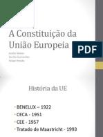 A Constituição da União Europeia