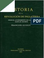Guizot Francois - Historia de La Revolucion de Inglaterra (1856) (Con Ocr)
