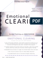 Emotional Clearing - Guided Training - John Ruskan - Booklet (2010)