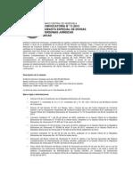 Convocatoria a décimo primera subasta del Sicad para personas jurídicas