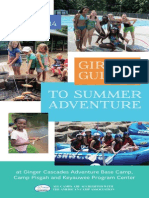Girls Guide to Summer Adventure 2014