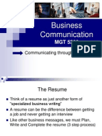 Business Communications (Lecture 15 and 16)