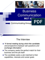 Business Communications (Lecture 17 and 18)