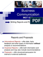 Business Communications (Lecture 19 and 20)