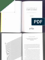 Jhon Maeda Las leyes de la simplicidad. Diseño, Tecnología, Negocios, Vida.pdf