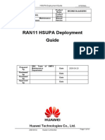HSUPA Deployment Guidelines