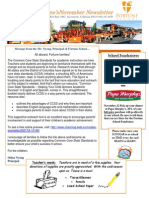 FS Newsletter - November 2013