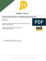 Professionalism Education