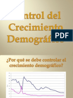 Control Del Crecimiento Demografico
