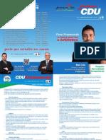 Flyer CDU Freamunde 2013