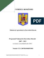Planul National de dezvoltare al Agriculturii 2006-2013
