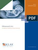 Ultrasound 2012 Report
