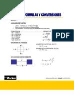 Formulas y Conversiones