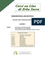 ERBORISTERIA ARCHETIPICA