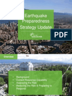 Vancouver Earthquake Preparedness Strategy - Staff Presentation to Mayor Robertson & City Council