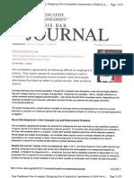 November Illinois Bar Journal Article