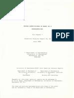 Matrix Computations in Basic on a Microcomputer5b