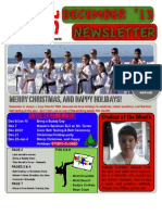 SMA Dec '13 Newsletter