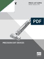 Stanley Precision 2014 Price Book