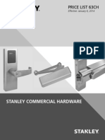 Stanley Commercial Hardware 2014 Price Book