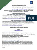 december2013 parent newsletter from cesa1