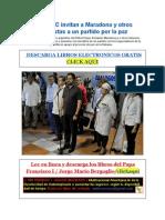 Las FARC Invitan a Futbolistas a Un Partido Por La Paz