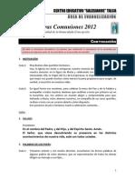 Celebración Primera comunión 2012