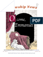 December 3, 2013 Fellowship News