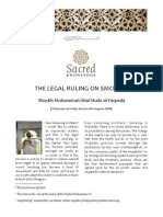 The Legal Ruling on Smoking By Sh Muhammad Al Yaqoubi