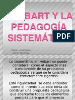 HERBART Y LA PEDAGOGÍA SISTEMÁTICA