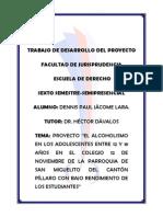 36510353 Proyecto El Alcoholismo