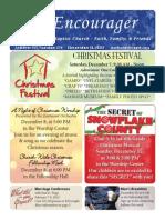 Encourager for December 8, 2013