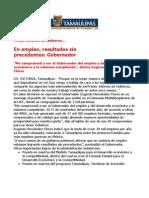 com 0484, 271105 Primer Informe de Gobierno de Eugenio Hernández Flores