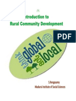 Introduction to Rural Community Development