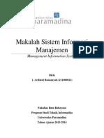 Makalah Kelompok 6_ Sistem Informasi Manajemen