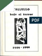 Trujillo Bajo El Terror