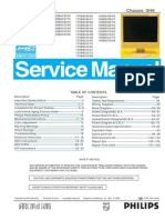 Philips 170b6-150b6-190b6 service manual